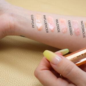 Lip-Gloss-Swatches
